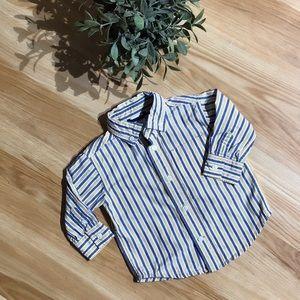 ✨5/$25 Boys Gymboree Button Down Shirt Size6-12M